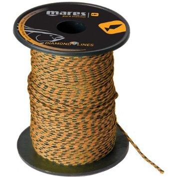 Високoустойчивa линия за тетива на ластици Dyneema® DIAMOND 2 мм / 300 кг - Mares